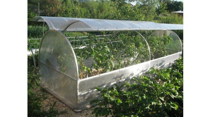 pařeniště - malý skleník